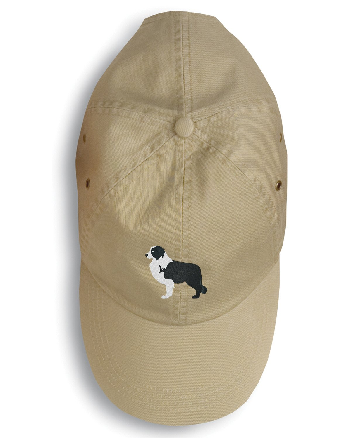 Black Border Collie Embroidered Baseball Cap BB3423BU-156 by Caroline's Treasures