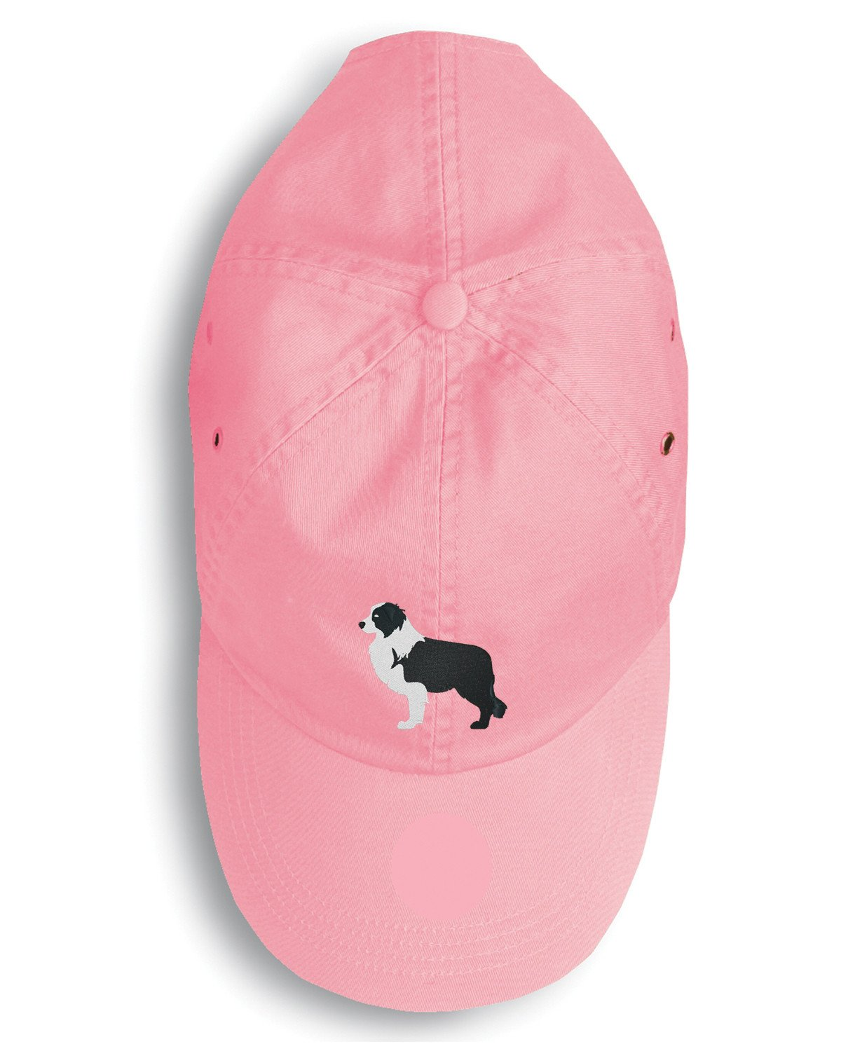 Black Border Collie Embroidered Baseball Cap BB3423PK-156 by Caroline's Treasures