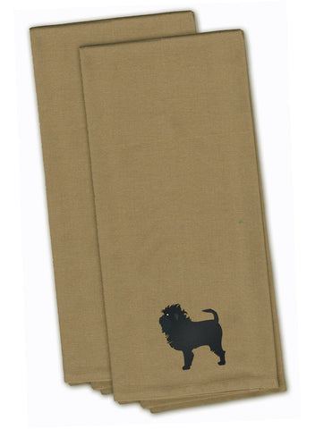 Buy this Affenpinscher Tan Embroidered Kitchen Towel Set of 2 BB3448TNTWE