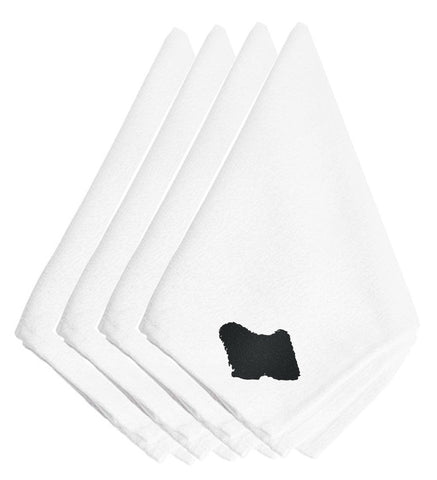 Buy this Puli Embroidered Napkins Set of 4 BB3463NPKE