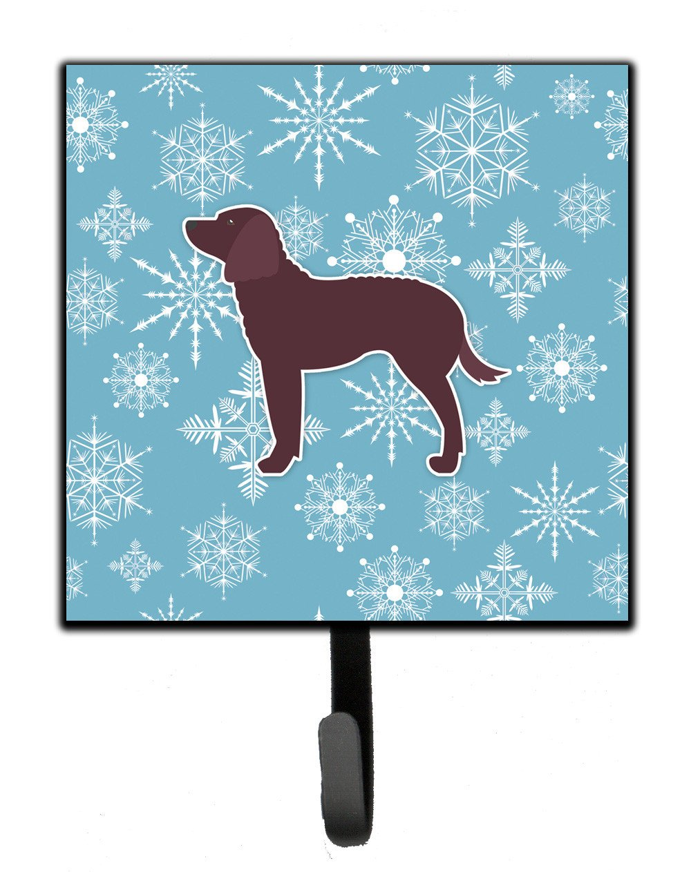 Winter Snowflake American Water Spaniel Leash or Key Holder BB3501SH4 by Caroline's Treasures