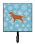 Winter Snowflake English Cocker Spaniel Leash or Key Holder BB3512SH4 by Caroline's Treasures