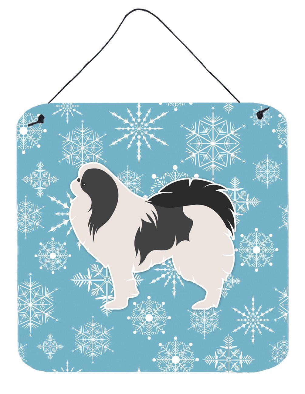 Winter Snowflake Japanese Chin Wall or Door Hanging Prints BB3537DS66 by Caroline's Treasures