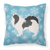 Winter Snowflake Japanese Chin Fabric Decorative Pillow BB3537PW1818 by Caroline's Treasures