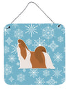 Winter Snowflake Shih Tzu Wall or Door Hanging Prints BB3546DS66 by Caroline's Treasures