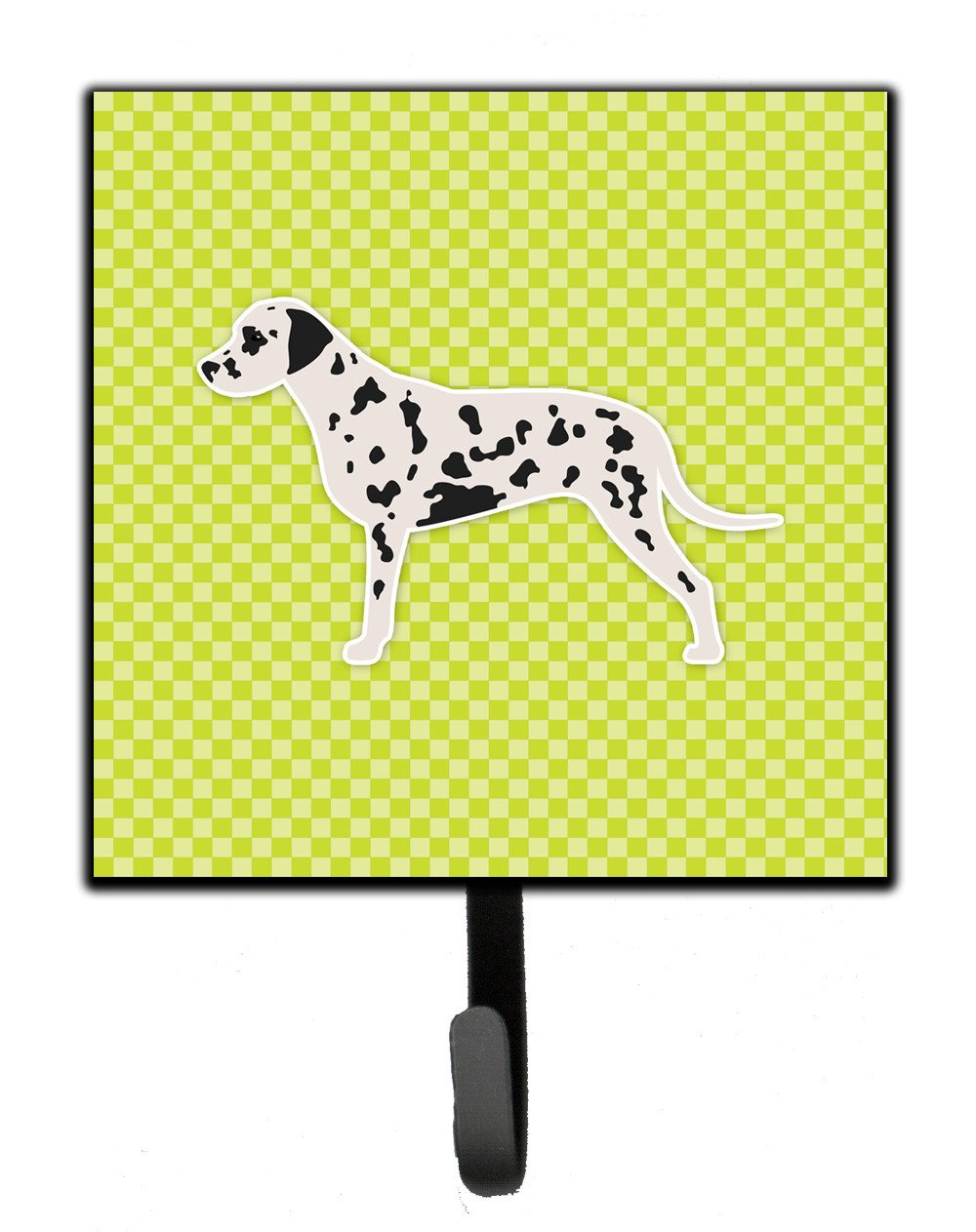 Dalmatian Checkerboard Green Leash or Key Holder BB3783SH4 by Caroline's Treasures