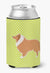 Collie Checkerboard Green Can or Bottle Hugger BB3816CC by Caroline's Treasures