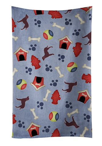 Buy this American Water Spaniel Dog House Collection Kitchen Towel BB3901KTWL