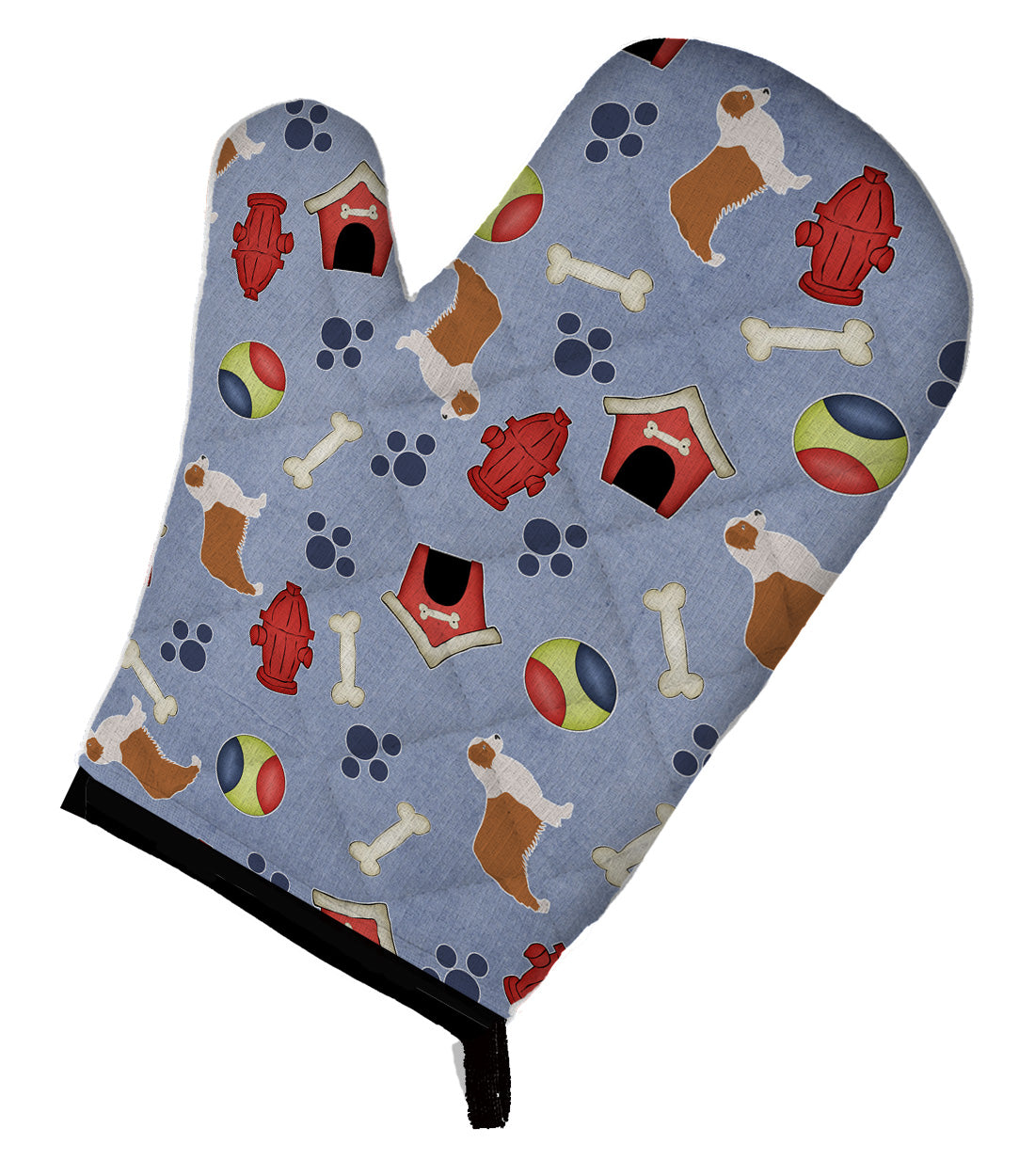 Buy this Australian Shepherd Dog Dog House Collection Oven Mitt BB3933OVMT