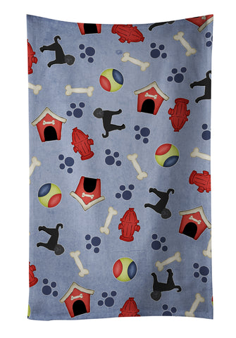 Buy this Dog House Collection Labradoodle Kitchen Towel BB4101KTWL