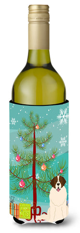 Buy this Merry Christmas Tree Moscow Watchdog Wine Bottle Beverge Insulator Hugger BB4152LITERK