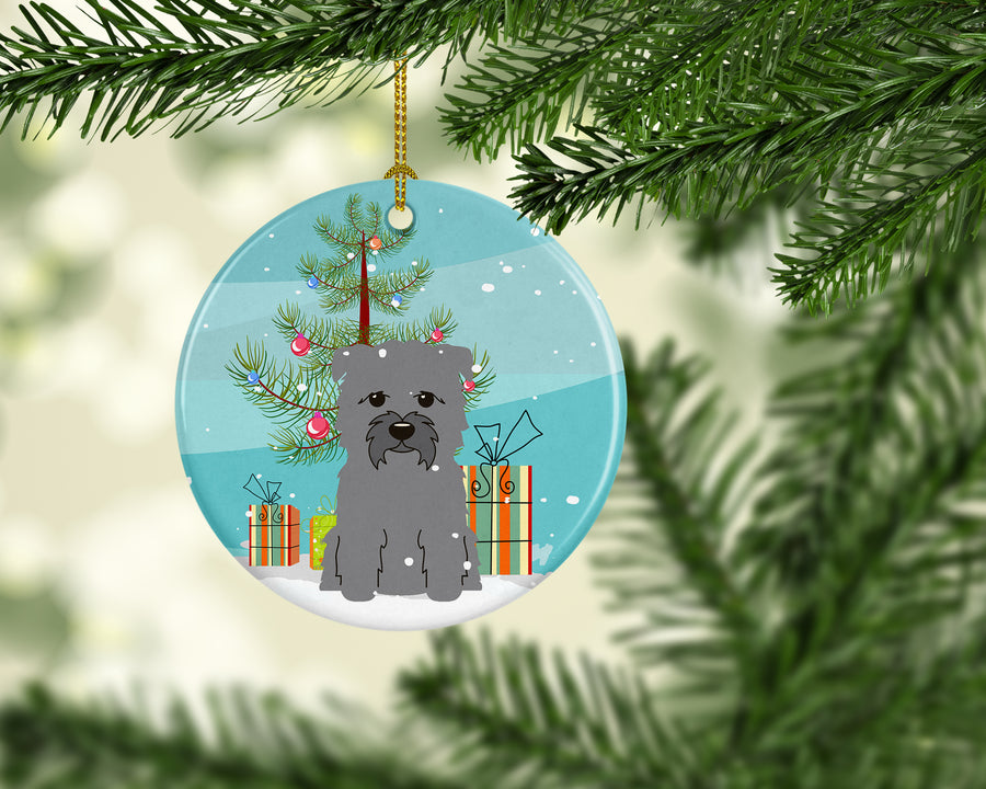 Buy this Merry Christmas Tree Glen of Imal Grey Ceramic Ornament BB4184CO1