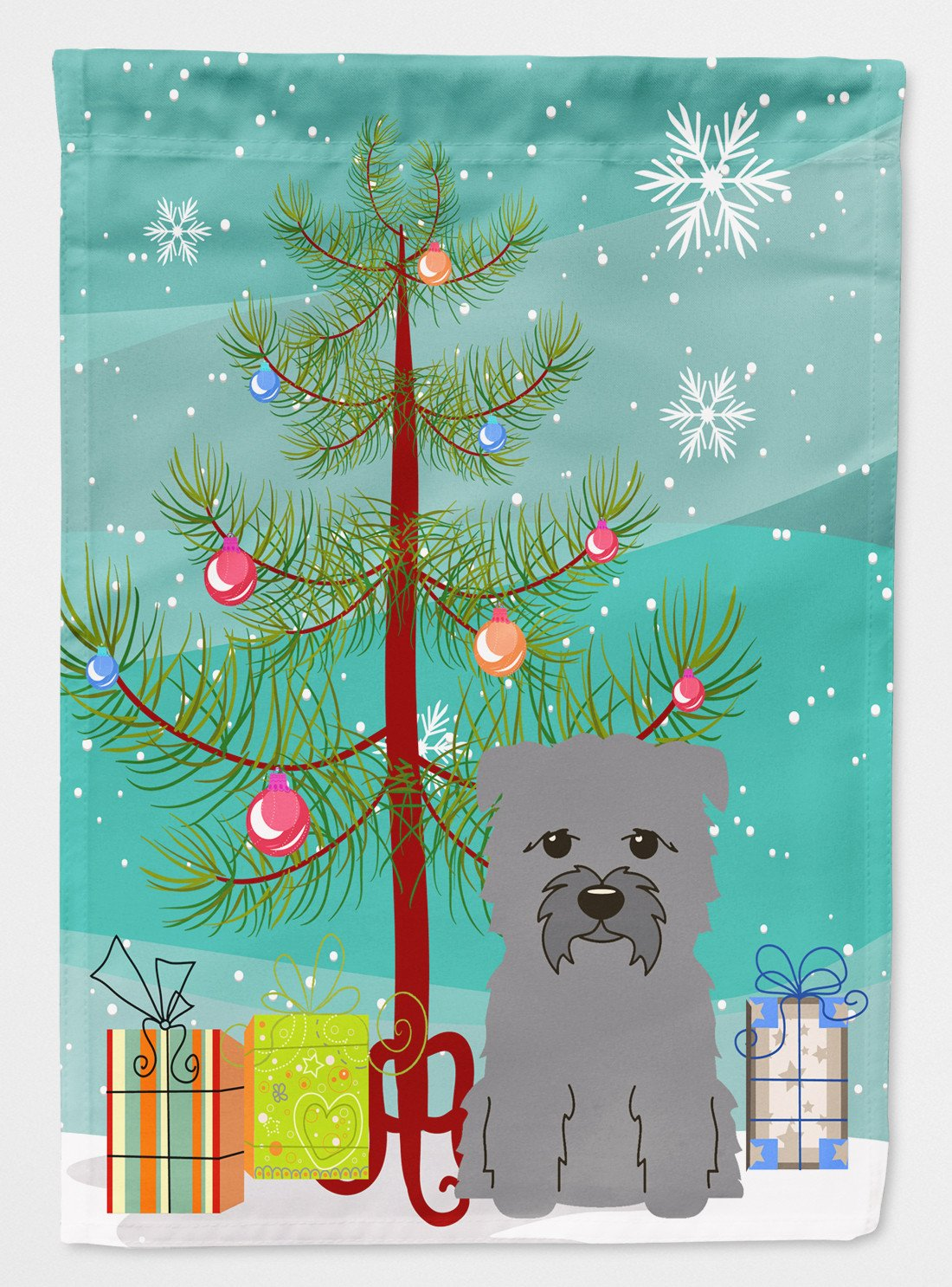 Buy this Merry Christmas Tree Glen of Imal Grey Flag Garden Size BB4184GF