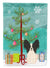 Buy this Merry Christmas Tree Papillon Black White Flag Garden Size BB4201GF