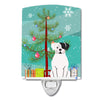 Buy this Merry Christmas Tree White Boxer Cooper Ceramic Night Light BB4239CNL