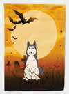 Halloween West Siberian Laika Spitz Flag Garden Size BB4291GF by Caroline's Treasures