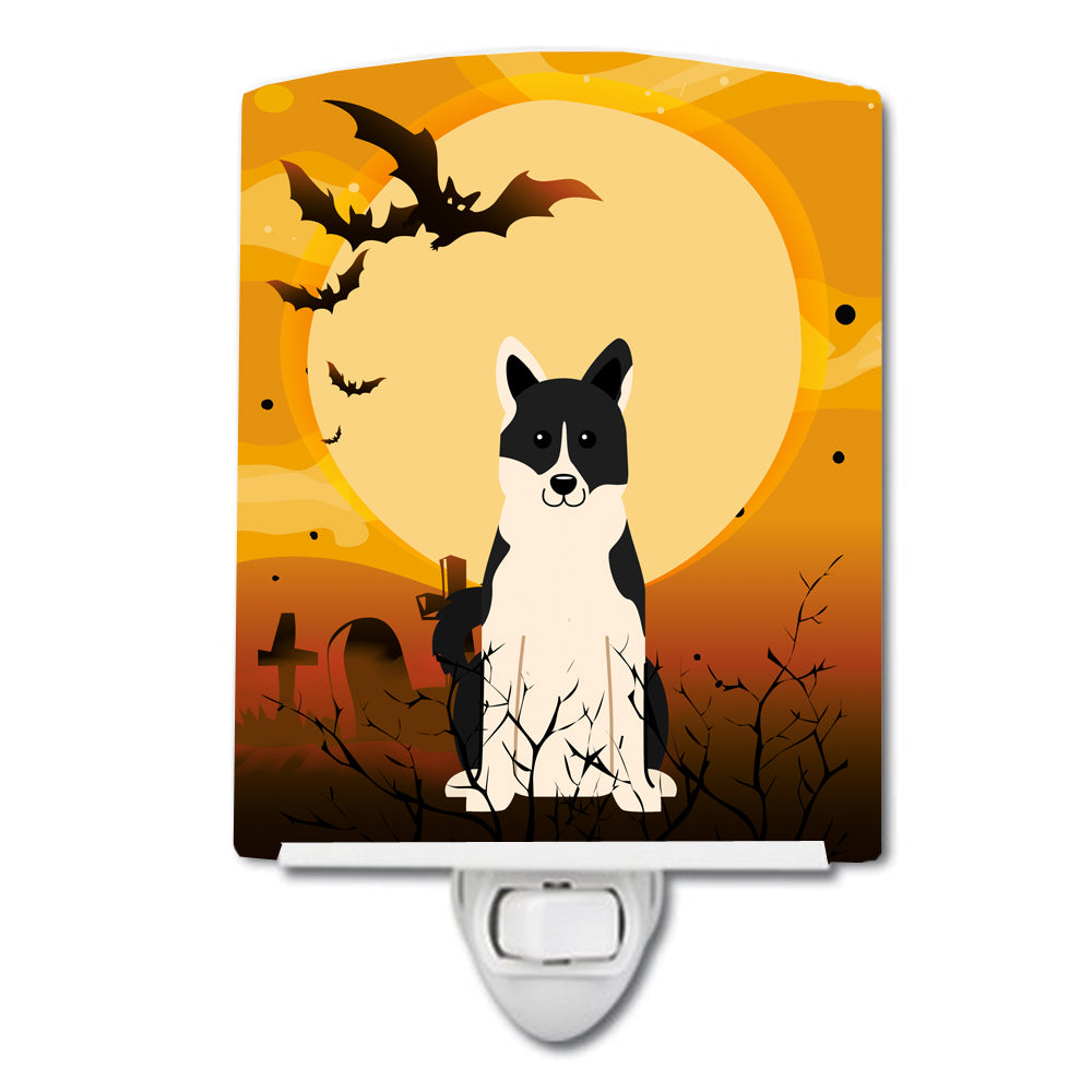 Halloween Russo-European Laika Spitz Ceramic Night Light BB4295CNL by Caroline's Treasures