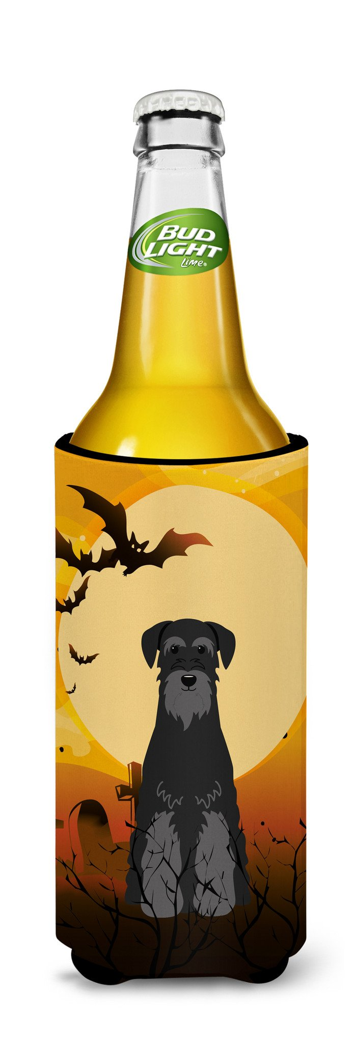 Halloween Standard Schnauzer Black Michelob Ultra Hugger for slim cans BB4298MUK by Caroline's Treasures