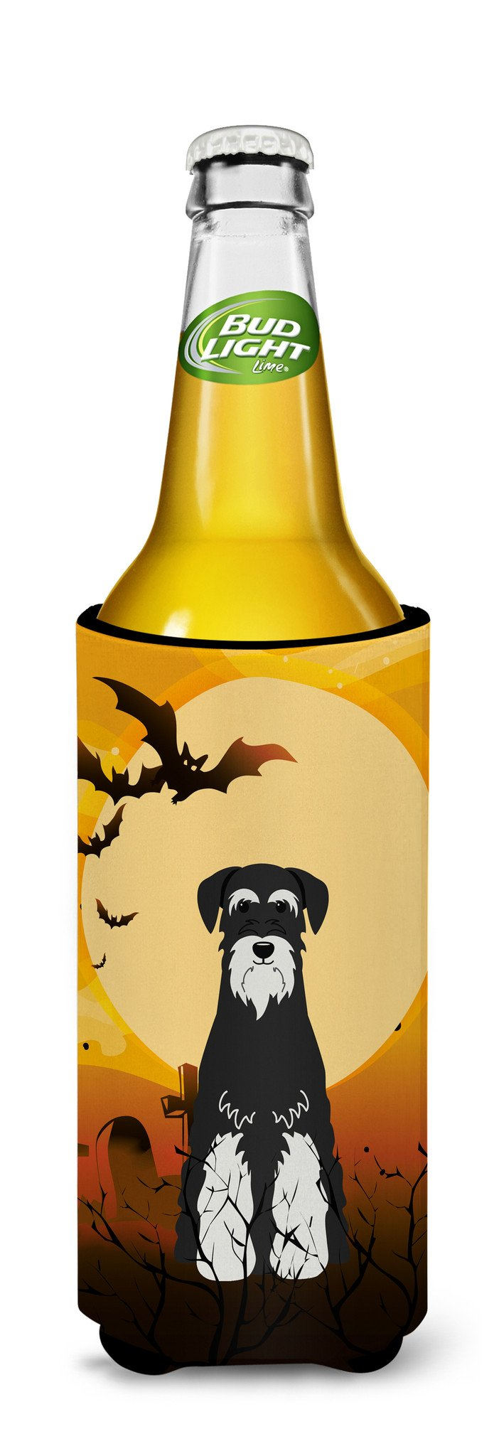 Halloween Standard Schnauzer Salt and Pepper Michelob Ultra Hugger for slim cans BB4299MUK by Caroline's Treasures