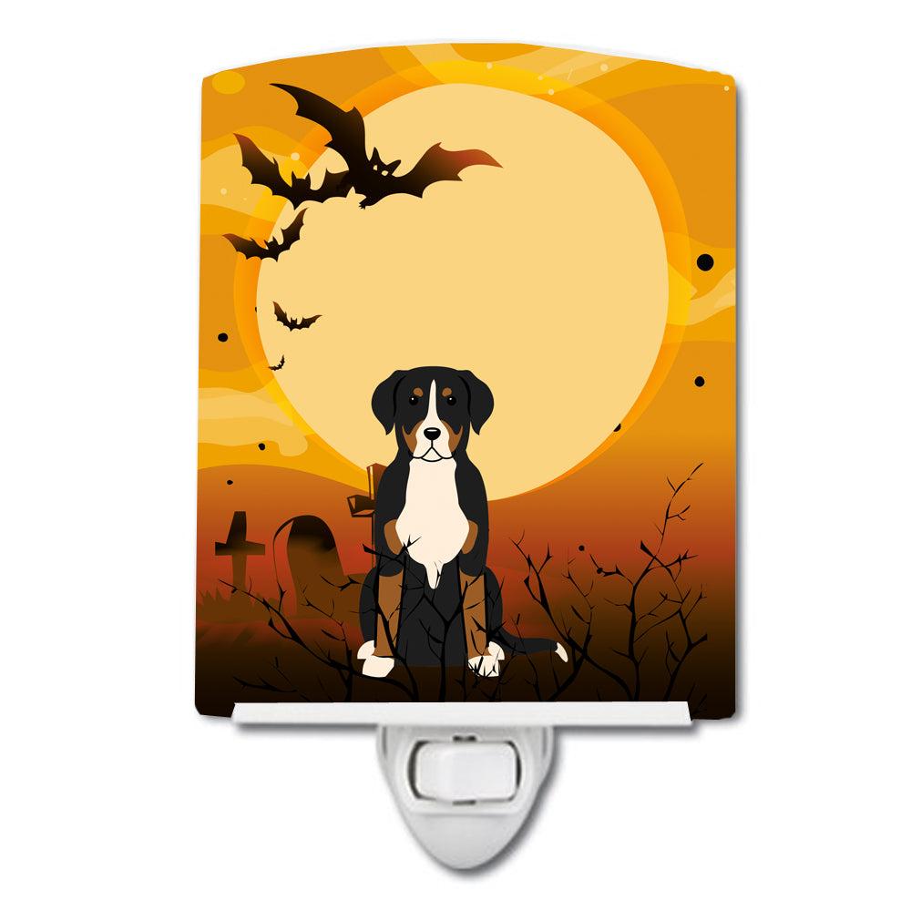 Halloween Greater Swiss Mountain Dog Ceramic Night Light BB4303CNL by Caroline's Treasures