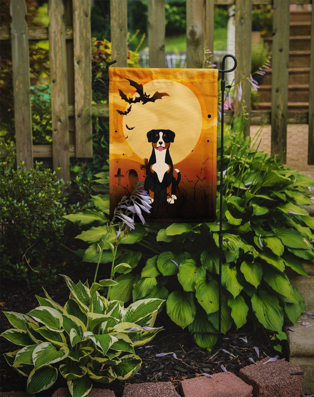 Halloween Entlebucher Flag Garden Size BB4304GF by Caroline's Treasures