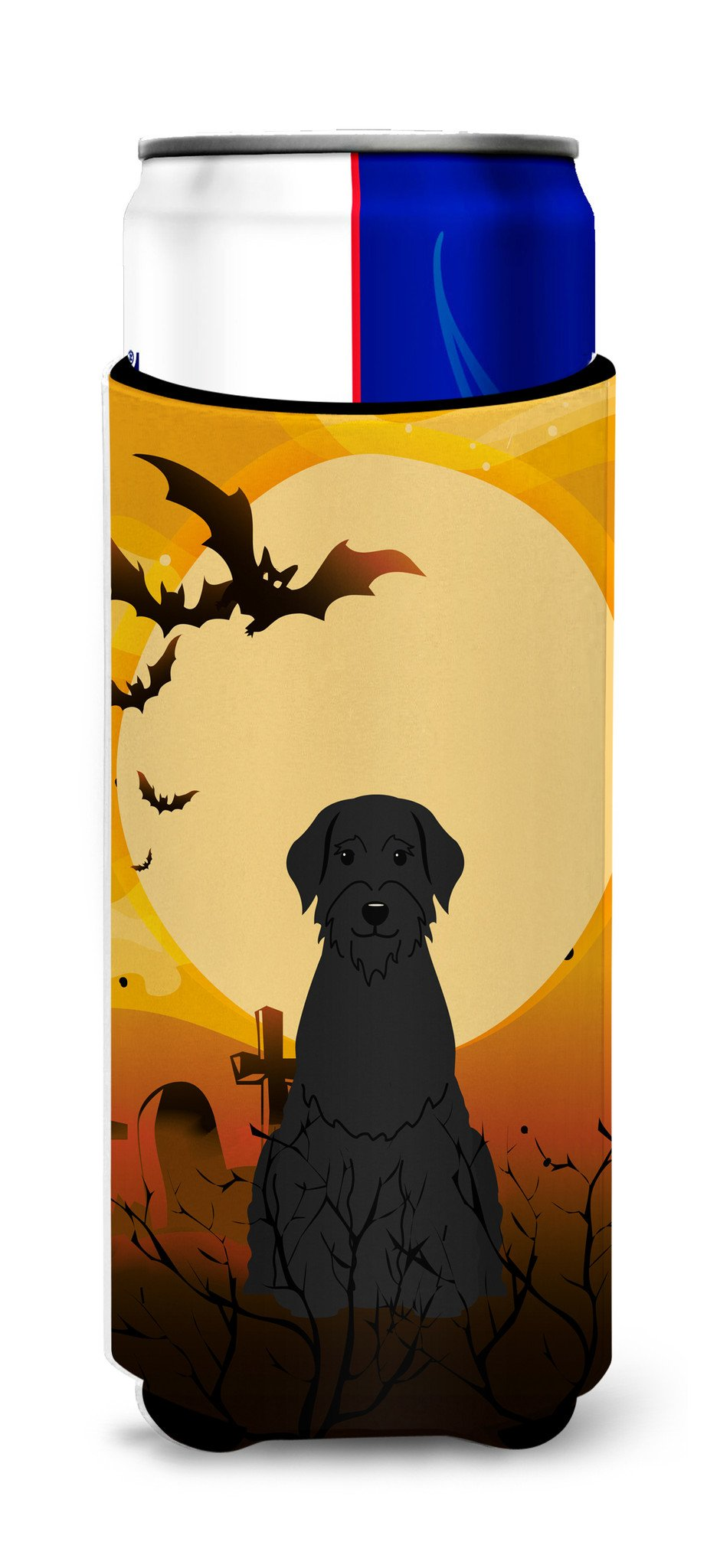 Halloween Giant Schnauzer Michelob Ultra Hugger for slim cans BB4332MUK by Caroline's Treasures