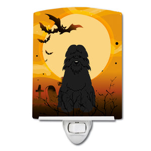 Buy this Halloween Bouvier des Flandres Ceramic Night Light BB4340CNL