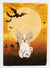 Buy this Halloween Papillon Sable White Flag Garden Size BB4343GF