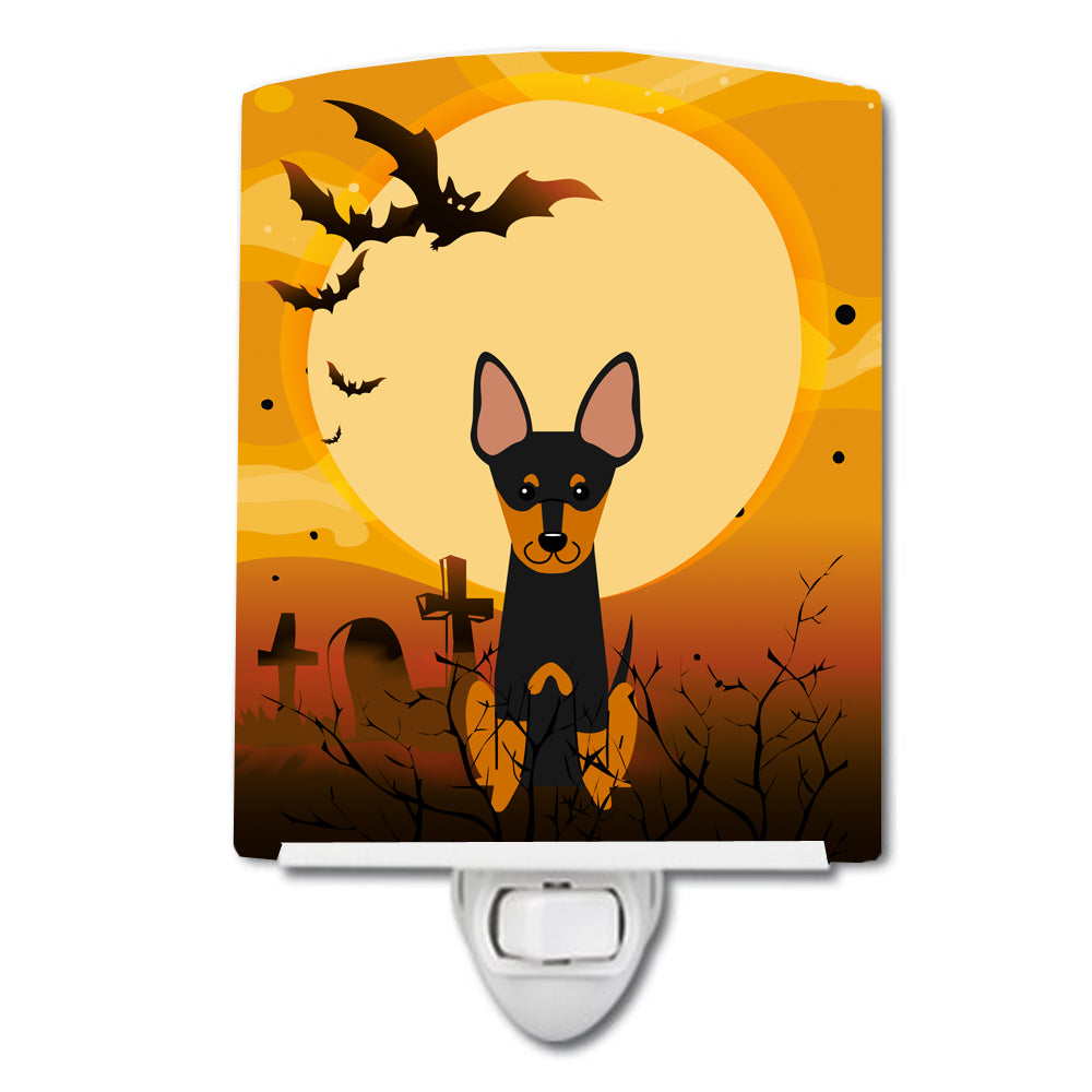Halloween English Toy Terrier Ceramic Night Light BB4375CNL by Caroline's Treasures