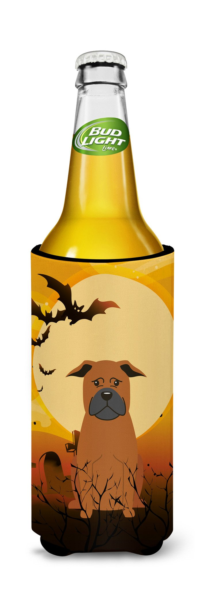 Halloween Chinese Chongqing Dog Michelob Ultra Hugger for slim cans BB4377MUK by Caroline's Treasures