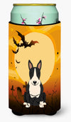 Halloween Bull Terrier Black White Tall Boy Beverage Insulator Hugger BB4399TBC by Caroline's Treasures