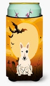 Halloween Bull Terrier White Tall Boy Beverage Insulator Hugger BB4404TBC by Caroline's Treasures