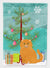 Buy this Scottish Fold Cat Merry Christmas Tree Flag Garden Size BB4428GF