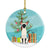 Buy this Siamese Cat Merry Christmas Tree Ceramic Ornament BB4429CO1