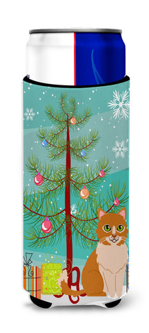 Buy this  Merry Christmas Tree Ural Rex Cat Michelob Ultra Hugger for slim cans BB4435MUK