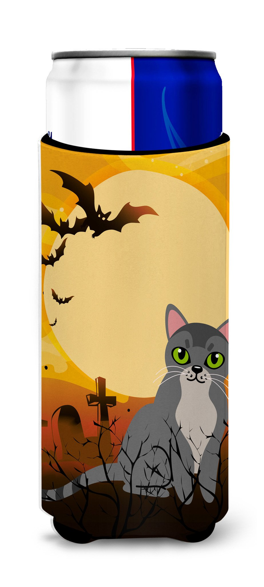 Buy this Halloween Asian Cat Michelob Ultra Hugger for slim cans BB4439MUK