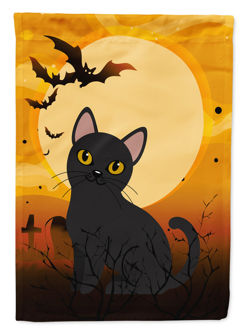 Buy this Halloween Bombay Cat Flag Canvas House Size BB4442CHF