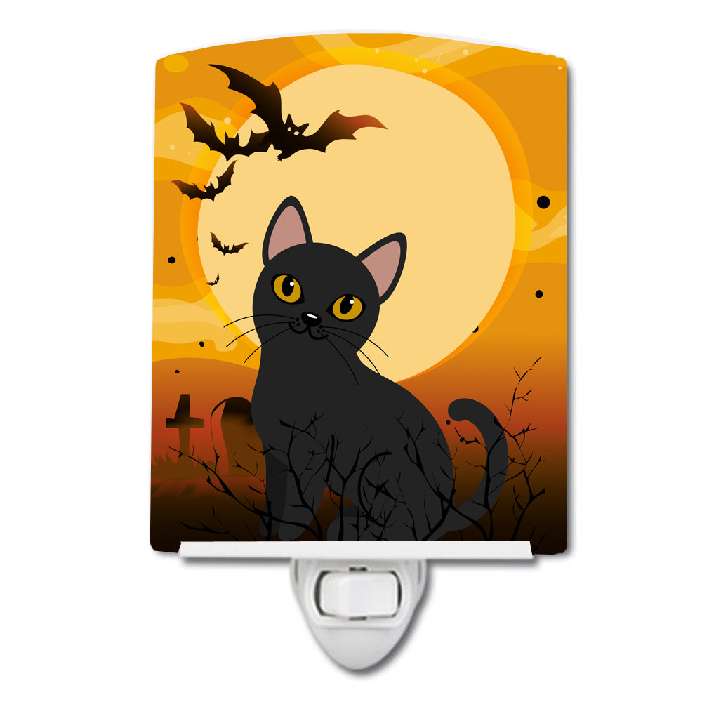 Halloween Bombay Cat Ceramic Night Light BB4442CNL by Caroline's Treasures