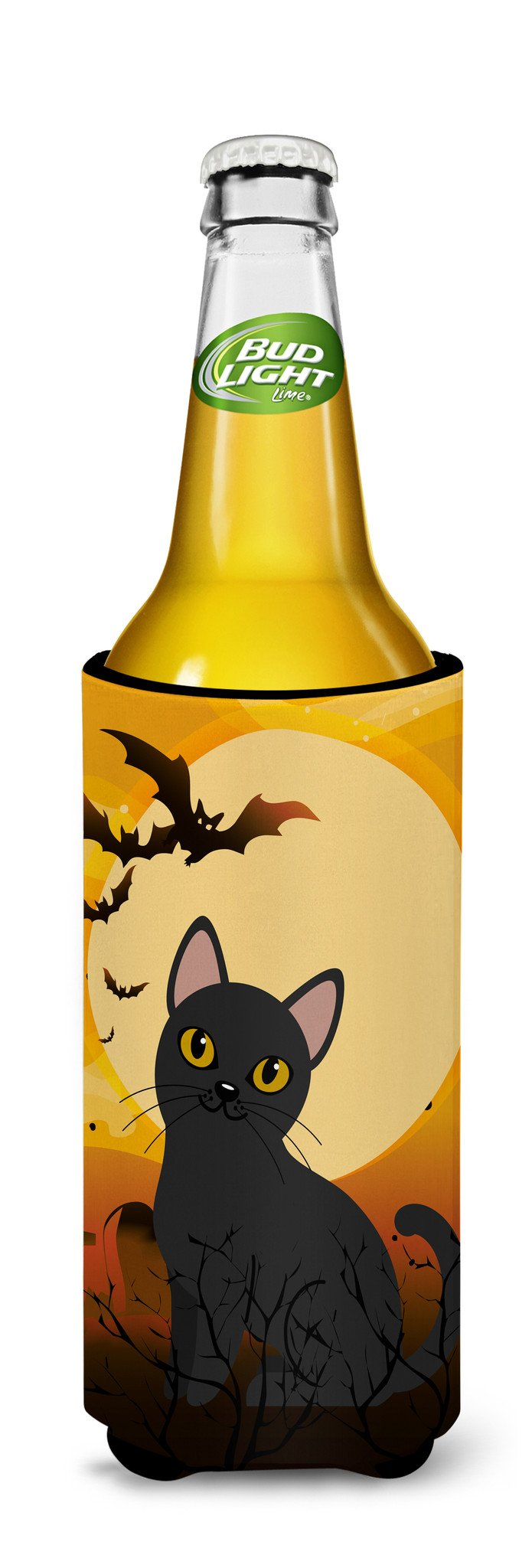 Buy this Halloween Bombay Cat Michelob Ultra Hugger for slim cans BB4442MUK