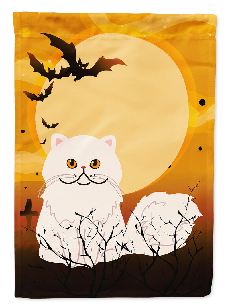 Buy this Halloween Persian Cat Flag Canvas House Size BB4450CHF