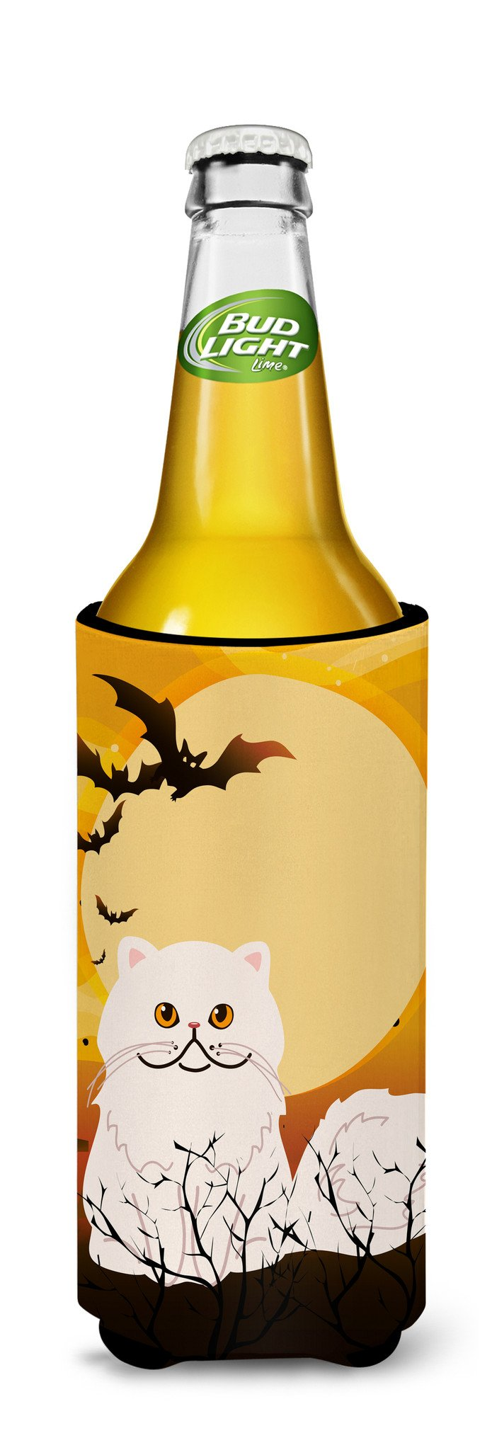 Buy this Halloween Persian Cat Michelob Ultra Hugger for slim cans BB4450MUK