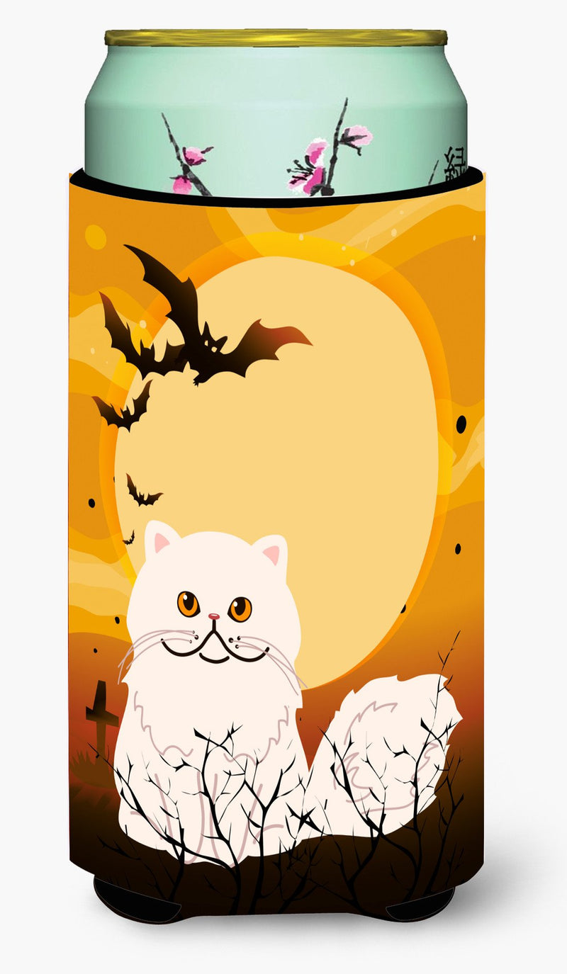 Buy this Halloween Persian Cat Tall Boy Beverage Insulator Hugger BB4450TBC
