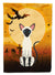 Buy this Halloween Siamese Cat Flag Canvas House Size BB4454CHF