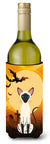 Buy this Halloween Siamese Cat Wine Bottle Beverge Insulator Hugger BB4454LITERK