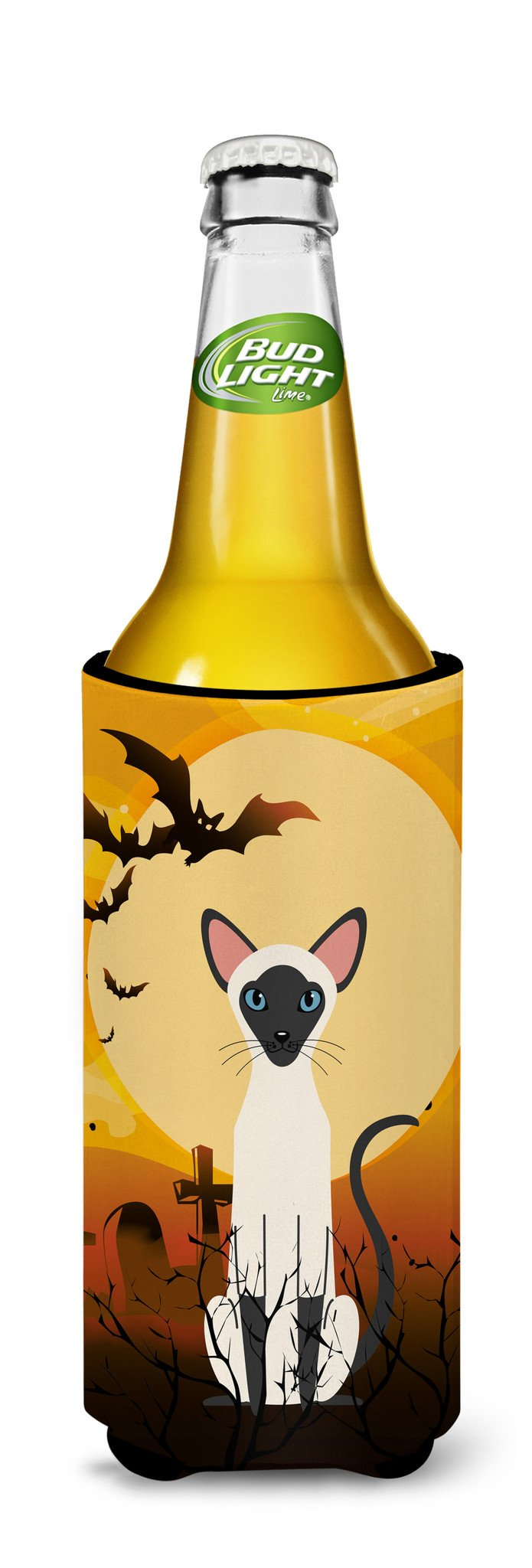 Buy this Halloween Siamese Cat Michelob Ultra Hugger for slim cans BB4454MUK