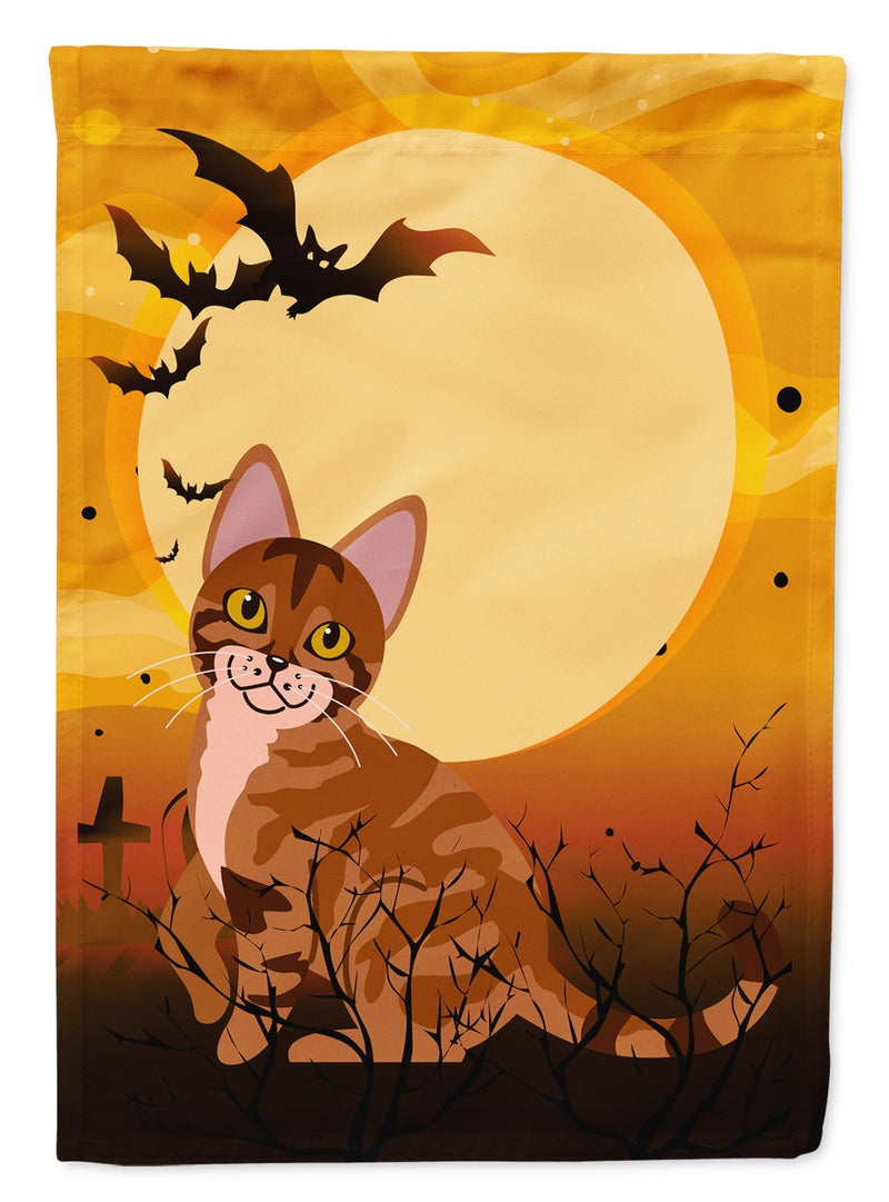 Buy this Halloween Sokoke Cat Flag Canvas House Size BB4456CHF