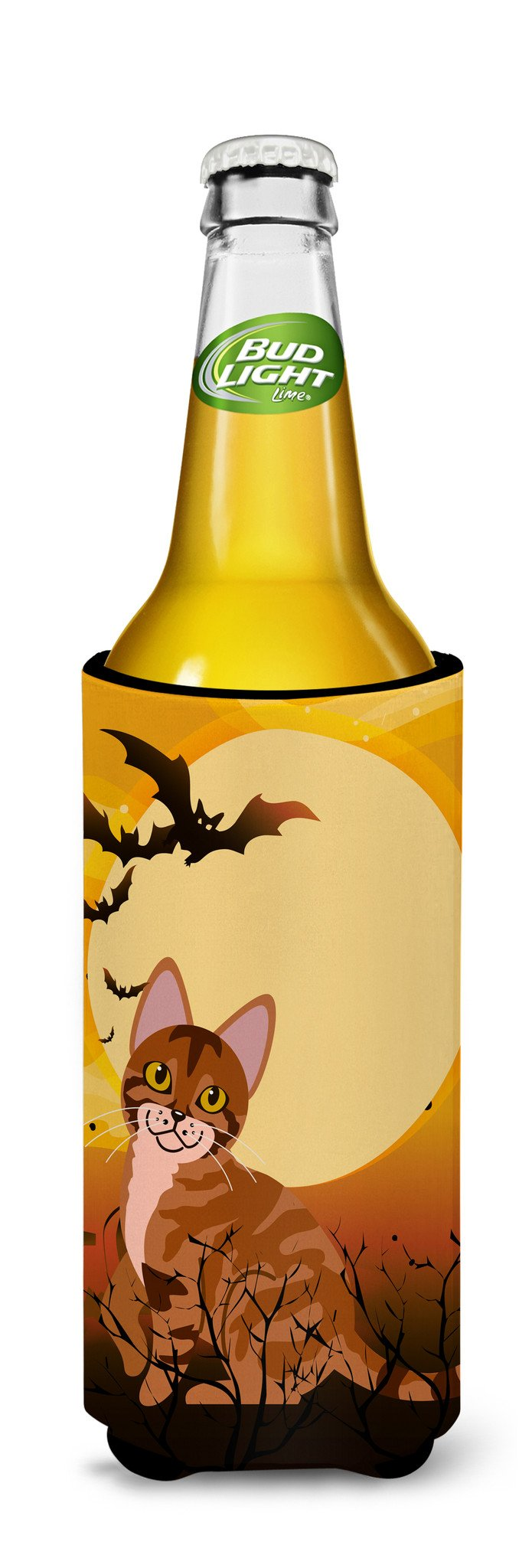 Buy this Halloween Sokoke Cat Michelob Ultra Hugger for slim cans BB4456MUK