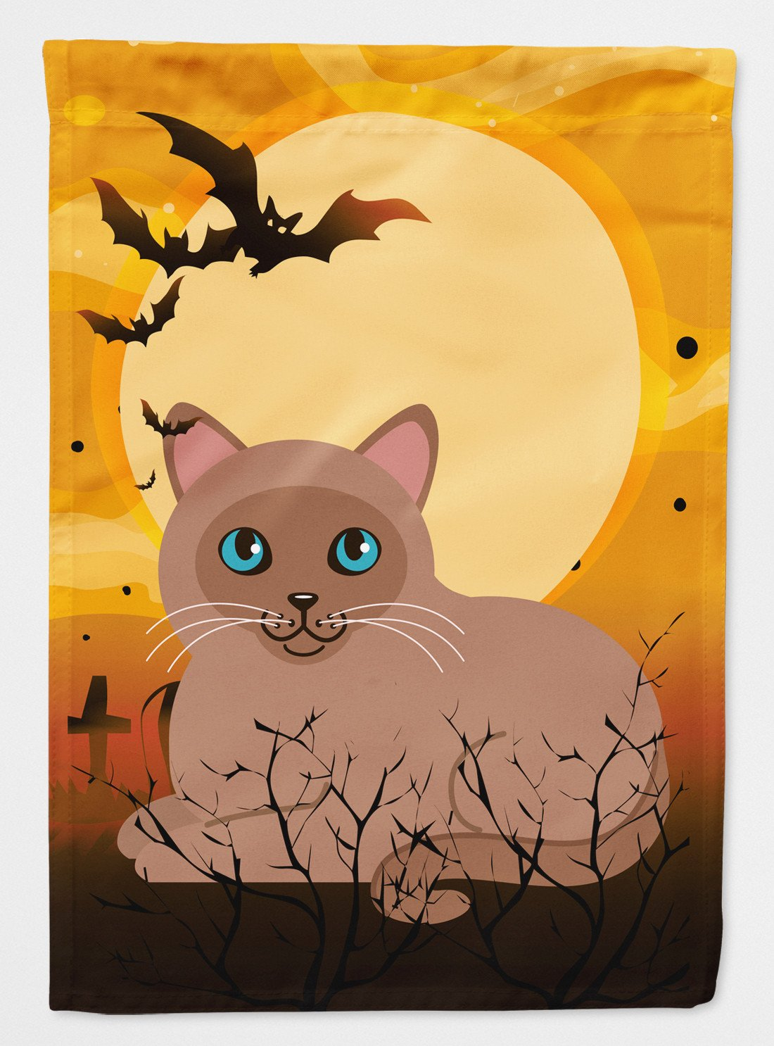 Buy this Halloween Tonkinese Cat Flag Garden Size BB4458GF