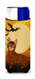 Halloween Toyger Cat Michelob Ultra Hugger for slim cans BB4459MUK by Caroline's Treasures