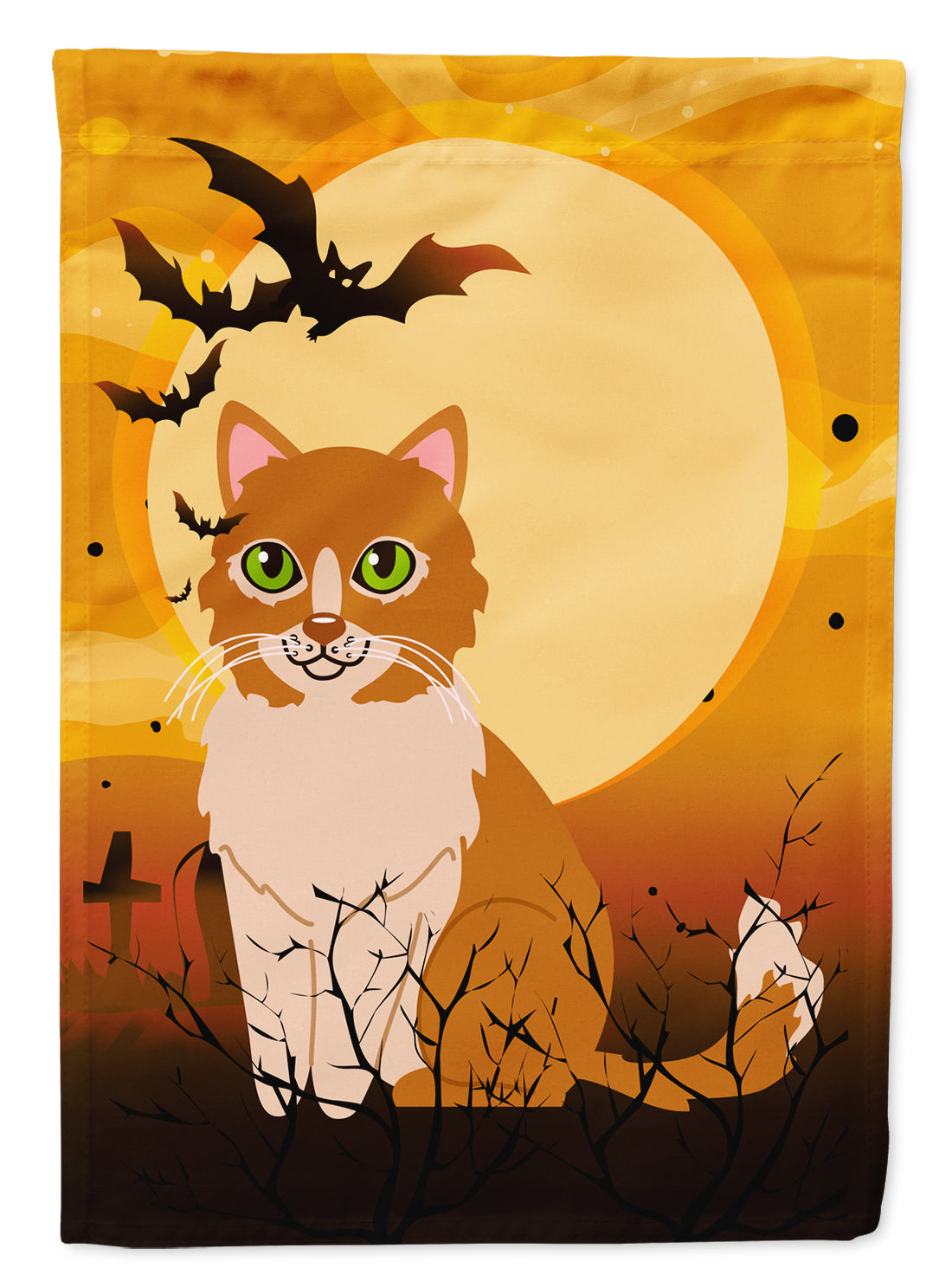 Halloween Ural Rex Cat Flag Canvas House Size BB4460CHF by Caroline's Treasures